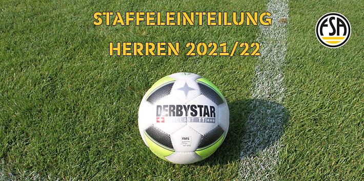 FSA: Spielklassen- und Staffeleinteilungen für die Saison 2021/22 festgelegt